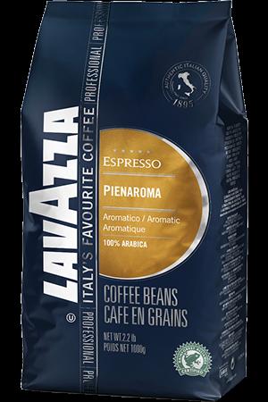 Lavazza 100% arabica Pienaroma koffiebonen