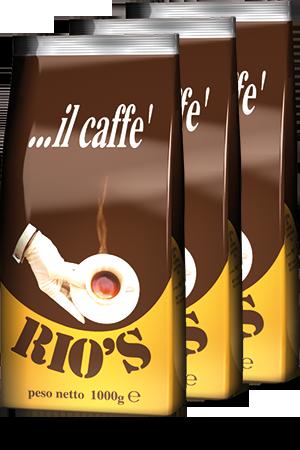 Caffe Rio's espresso koffie