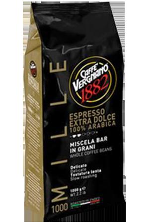Vergnano extra dolce 1000 koffiebonen