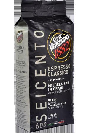 Vergnano espresso classico 600 koffiebonen
