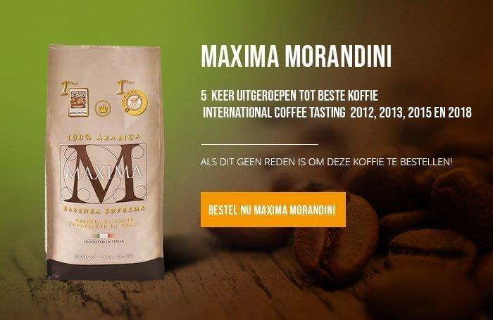 Maxina Morandini Koffiebonen